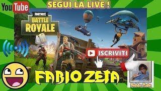 FORTNITE PARTITE in SQUADRA - GOOD GOOD TO PLAY, WHO ENTRA? EPIC and PS4: FabioPad