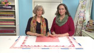Layering And Basting A Quilt