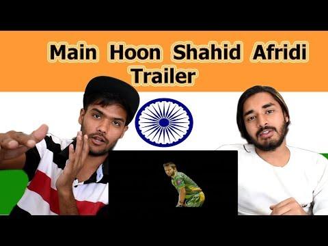 Indian reaction on Main Hoon Shahid Afridi Trailer | Swaggy d