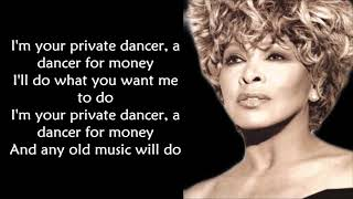 Tina Turner - Private Dancer LYRICS ||Ohnonie (HQ)