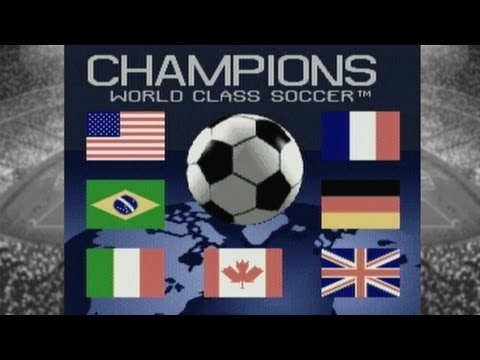 CGR Undertow  CHAMPIONS WORLD CLASS SOCCER  for Super Nintendo