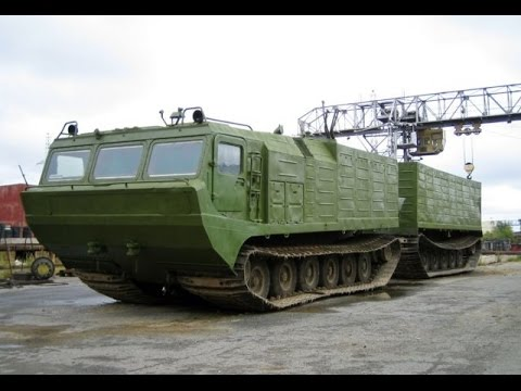 Russian cross-country vehicle.