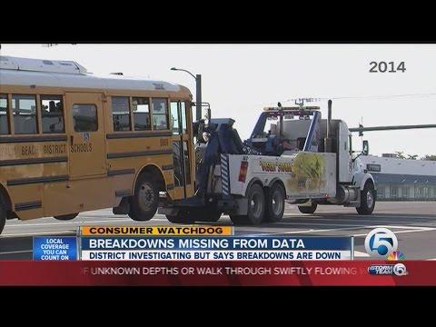 Bus Breakdowns Missing From Palm Beach Co. School Data
