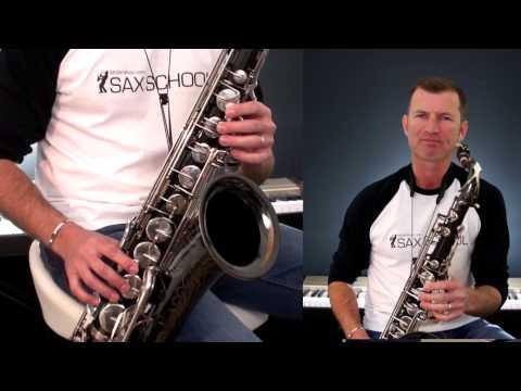 One Step Beyond  Tenor Saxophone Lesson sample