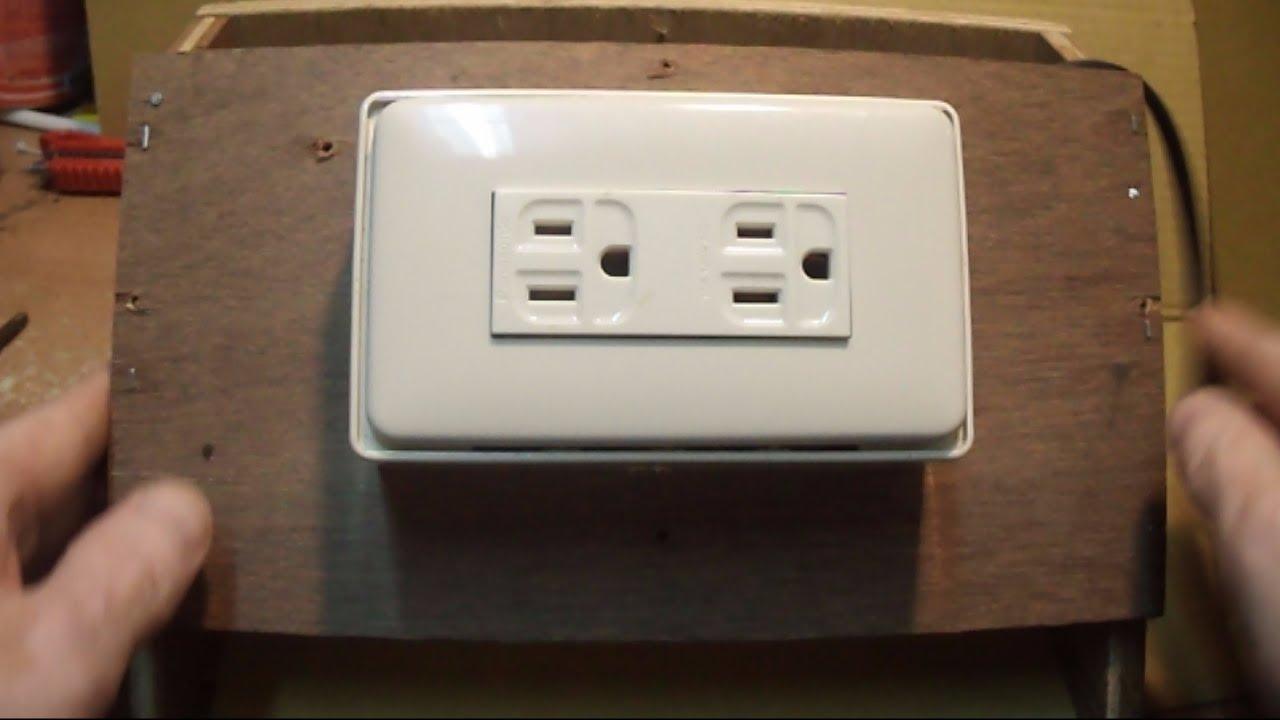 單插座更換成3孔雙插座 - YouTube