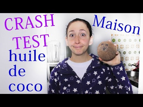 Crash Test : Je FABRIQUE de l'huile de COCO maison !