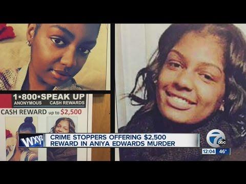 Reward to find killer of teenage girl