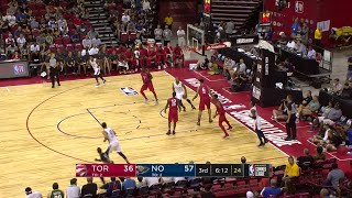 3rd Quarter, One Box Video: New Orleans Pelicans vs. Toronto Raptors