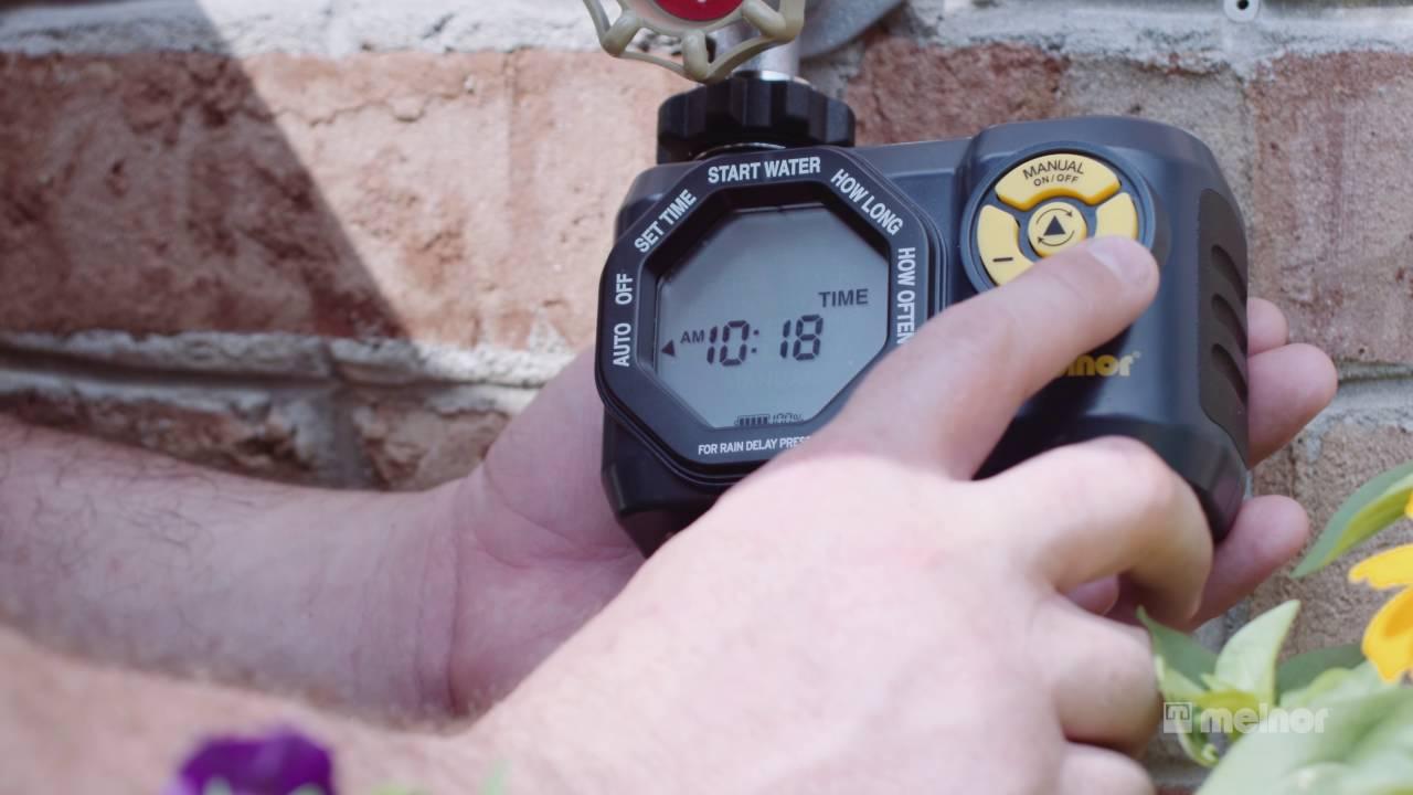 Melnor digital aqua timer 3015.