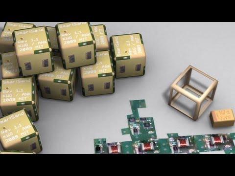 MIT developing self-sculpting Smart Sand robots