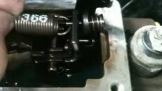 3200 RPM governor spring removal/install on 89-93 Dodge Cummins VE pump. (366 spring)