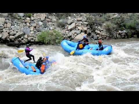 """Highwater"" Arkansas river rafting"