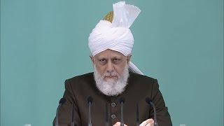 Freitagsansprache 17.06.2016 - Islam Ahmadiyya