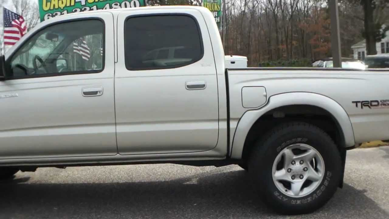 ~~~SOLD~~~2004 Toyota Tacoma Double Cab For Sale~SR5 TRD Off Road  Package~4x4