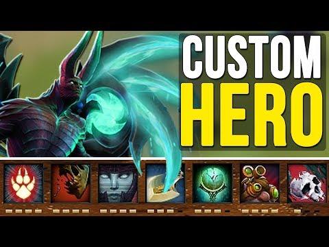 видео: СОЗДАЕМ ГЕРОЯ В НОВОМ МОДЕ! custom hero survival [custom week]