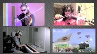 SSBM - Corneria (Piano Trio) ft. mklachu & xclassicalcatx
