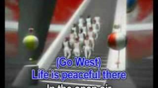 Go West - Pet Shop Boys - Karaoke