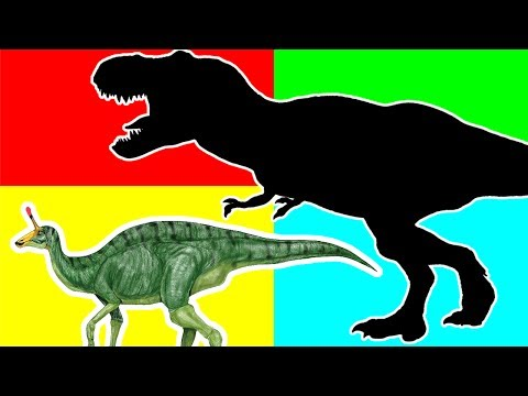 Wrong Shadow Dinosaurs! Learn Jurassic Dinosaurs Names Nursery Rhymes. Dinosaurs Rex Toys for Kids.