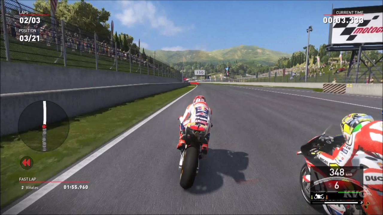 Valentino Rossi The Game - MotoGP 16 - Marc Marquez Gameplay (PS4 HD) [1080p60FPS] - YouTube