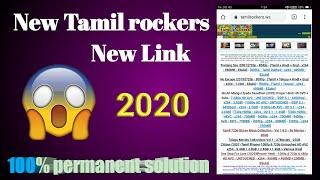 Tamilrockers new 2020 link permanent solution simple tricks tamil