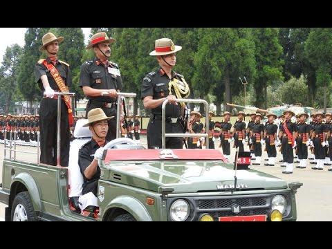 Lt Gen Subrat Saha Reviews The Attestation Parade At Assam Regimental Centre