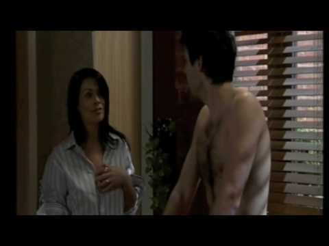 Coronation Street  Liam Connor Shirtless Wet