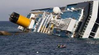 Подборка тонущих кораблей