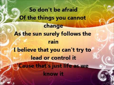 Life as We Know It by Lady Antebellum