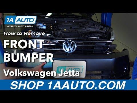 How to Remove Front Bumper 11-18 Volkswagen Jetta