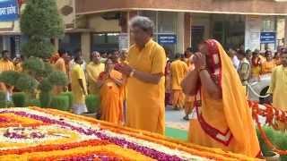 Guru Purnima Celebration @ Darshan Pranam At Shantikunj Haridwar 12th July 2014