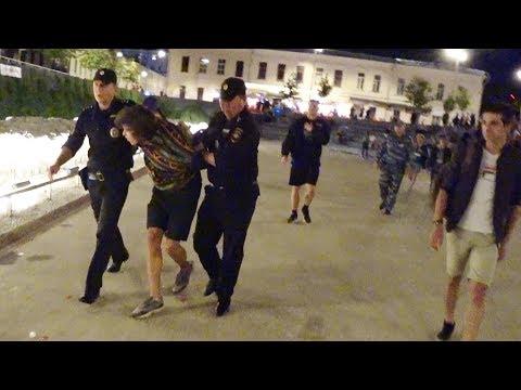Лев Против - Отморозки в Яме, задержания полиции.