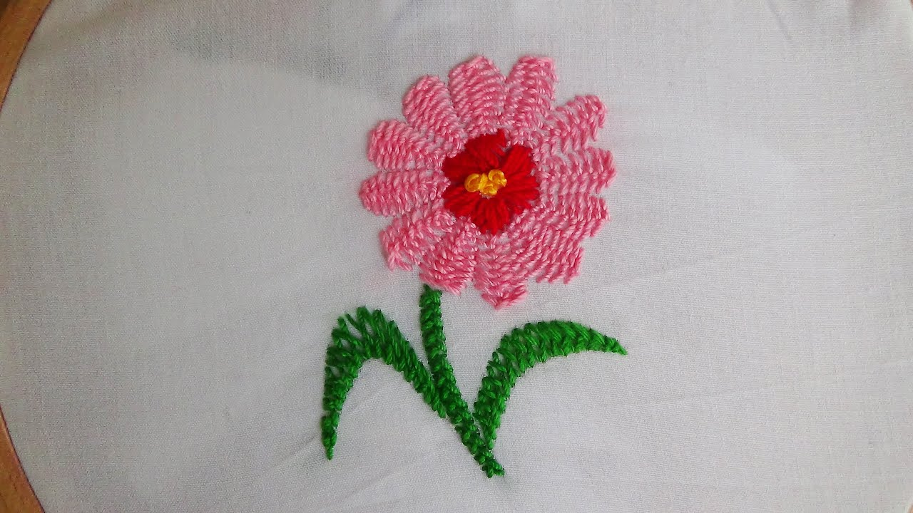 Hand embroidery certain stitch kashmiri tanka youtube