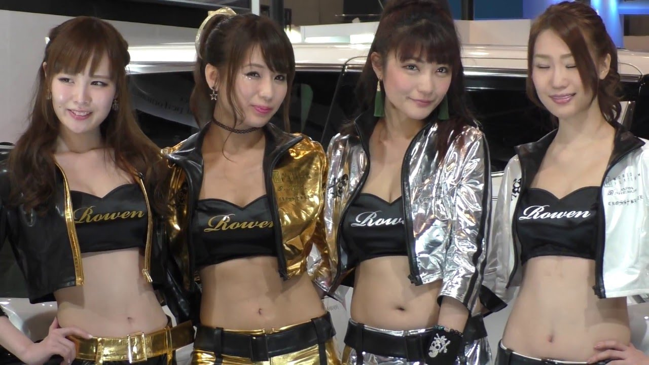 Motorcycle And Car Drift Wallpaper Sexy Japanese Auto Show Girls In Tokyo Auto Salon 2016 6