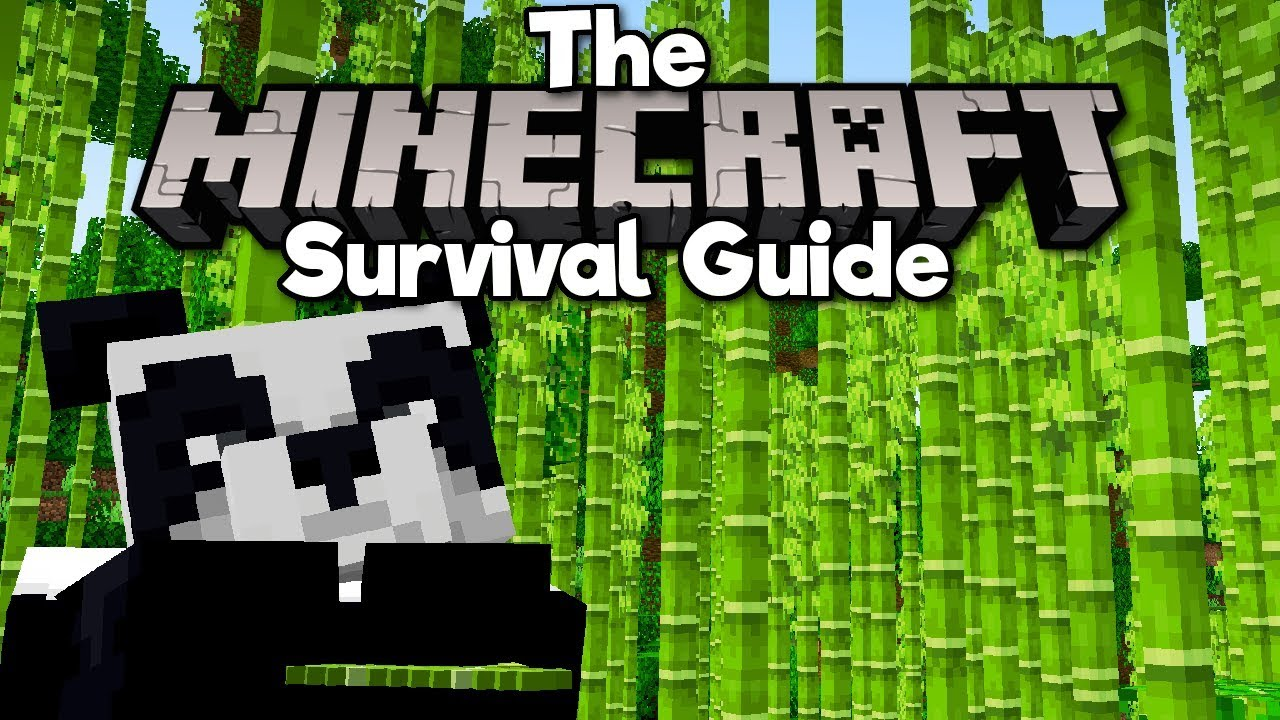 Bamboo, Pandas, and Scaffolding! ▫ The Minecraft Survival Guide (Tutorial Lets Play) [Part 129]