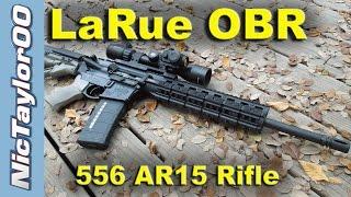 Larue Tactical 5.56 OBR AR15 Rifle