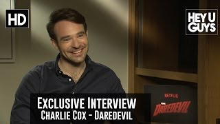 Charlie Cox Exclusive Interview - Daredevil (Civil War, Ben Affleck)