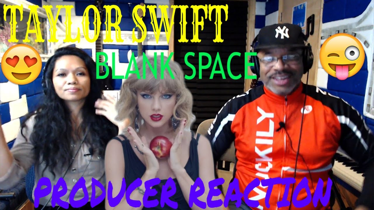 Taylor Swift Blank Space - Producer Reaction