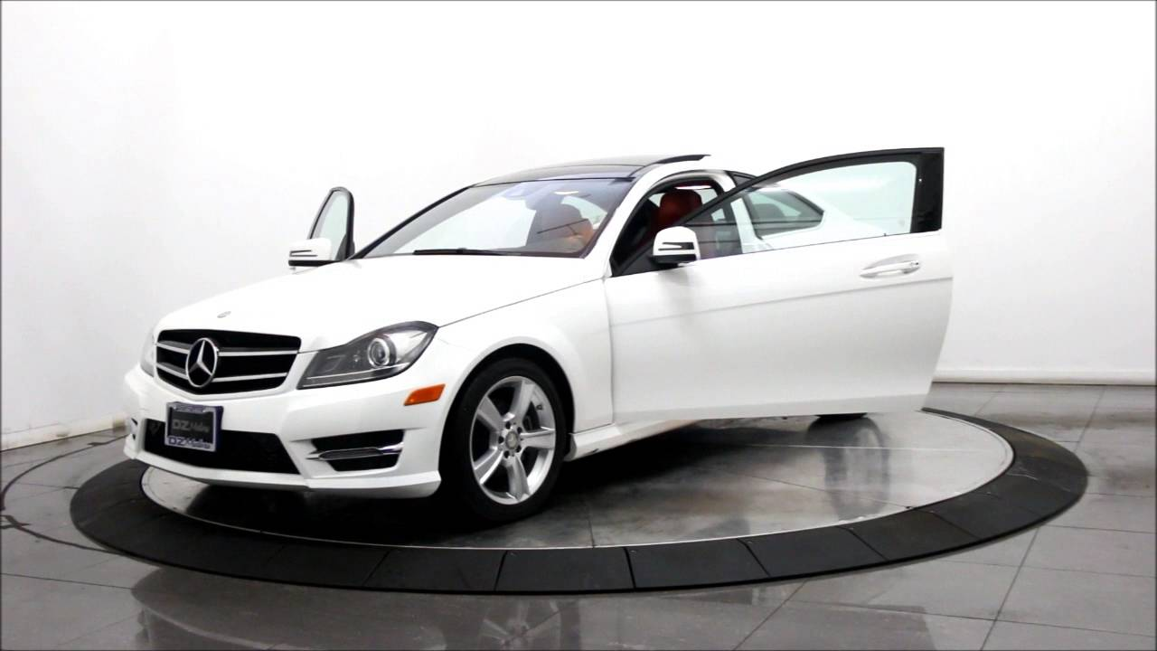 2014 Mercedes Benz C250 Sport Coupe Youtube