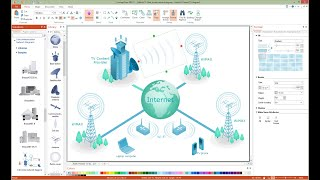 How to Draw a Telecommunication Network Diagram