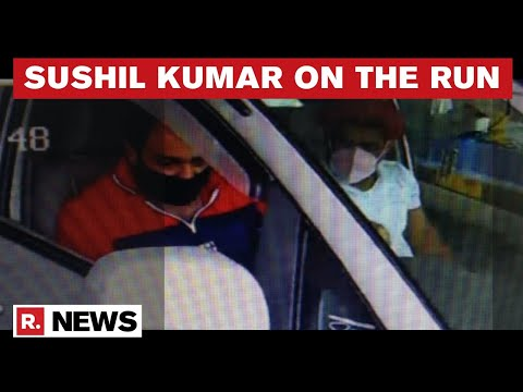 Wrestler Murder Case: Absconding Sushil Kumar Spotted At Meerut Toll Plaza CCTV Footage
