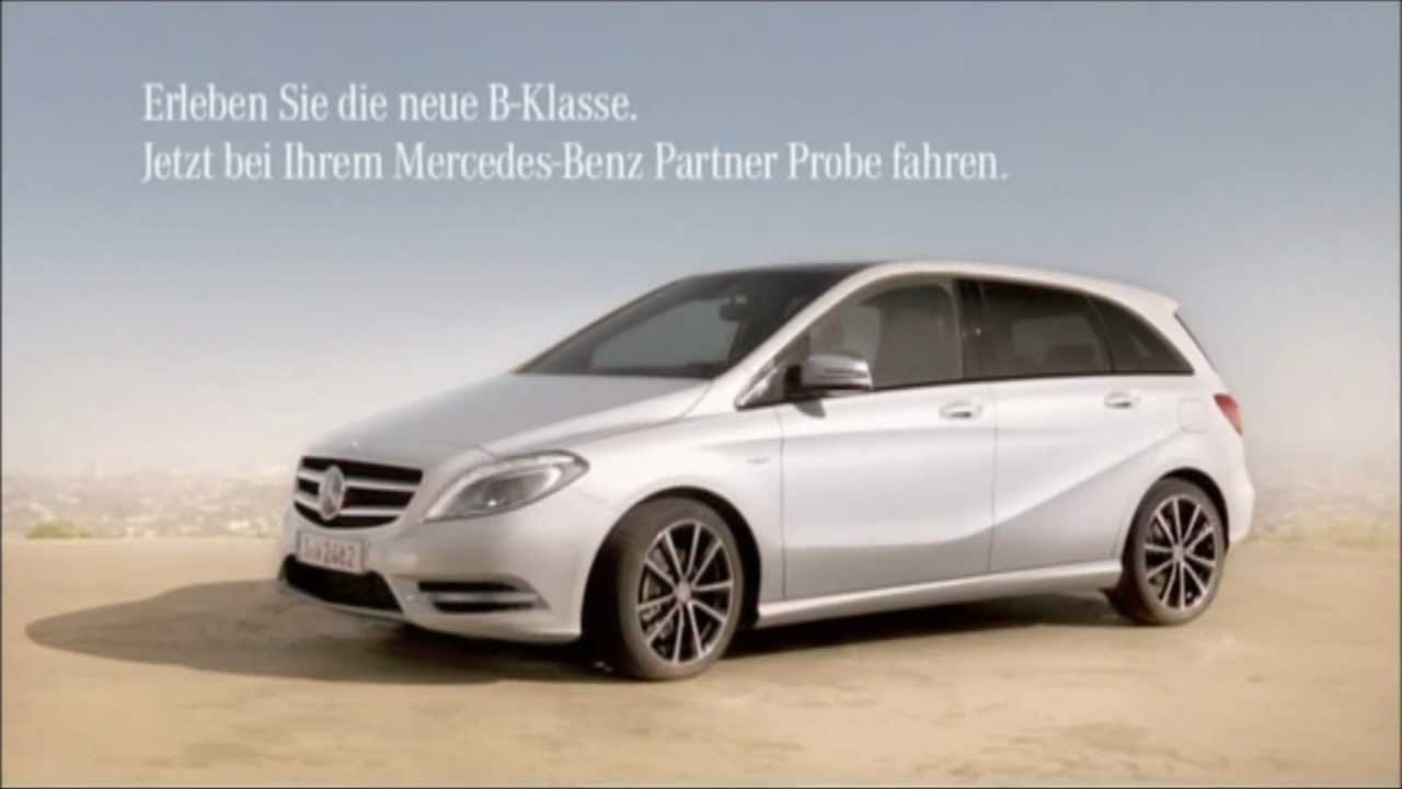 neue mercedes b klasse werbung hd youtube. Black Bedroom Furniture Sets. Home Design Ideas