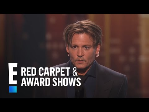 Johnny Depp is The People's Choice for 'Favorite Movie Icon' | E! People's Choice Awards