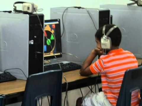 Photo Story of Computer Labs at Mattie Lively Elementary School