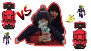 Покатушки с мамой. Обзор детского автокресла. Макся и игрушка/Pokatushki with mom. Child car seat