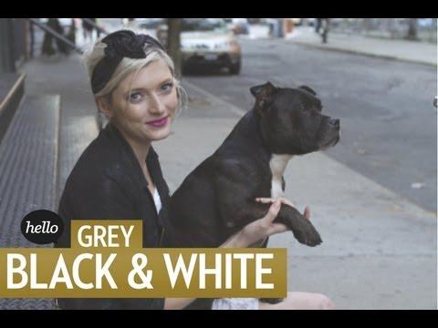 Fall Trend Alert: Grey, Black & White | Hello Street Style