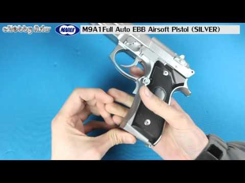 Tokyo Marui M9A1 Full Auto EBB Airsoft Pistol (SILVER)
