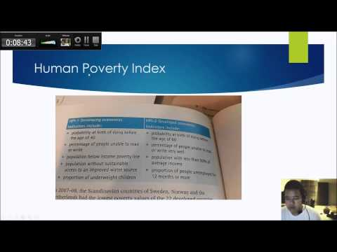 IGCSE Economics 0455 | 7.1 Developed and developing economies: Poverty & Rate of Living