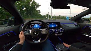 Новый Mercedes GLA (2020) - POV тест-драйв AMG Line (200 D, 150 л.с., 8G-DCT)