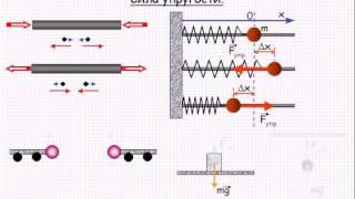 Сила упругости  Механика  Урок 17