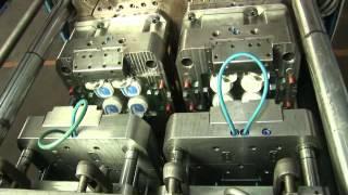 powerjet double color injection molding machine BJM 200V